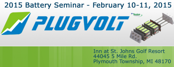 Battery Seminar 2015 Presented By Plugvolt