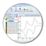 Digielch Software simulate Cyclic Voltammetry