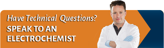 Have Technical Questions? Speak to an Electrochemist