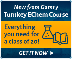 New from Gamry | Turnkey EChem Course - Get it now!