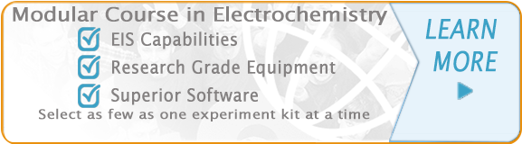 Modular Laboratory Course in Electochemistry-Select as few as one experiment kit